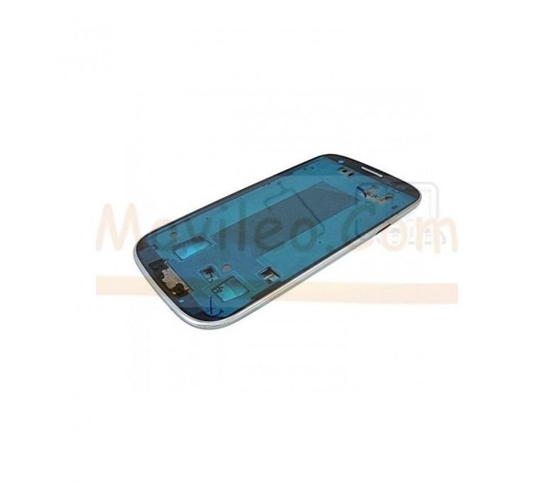Marco Frontal Chasis Gris para Samsung Galaxy S3 i9300 - Imagen 1