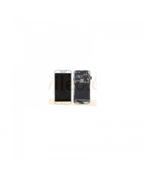 Pantalla Completa Blanca Con Marco Samsung Galaxy S4  i9505 - Imagen 1