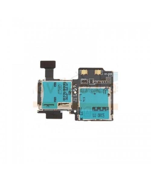 Modulo Lector Tarjeta Sim y Memoria Micro Sd para Samsung Galaxy S4 i9500 i9505 - Imagen 1