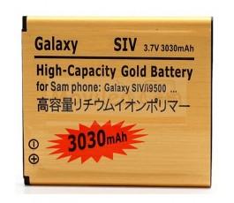Bateria Gold de 3030mAh para Samsung Galaxy S4 i9500 i9505 i9506 - Imagen 1