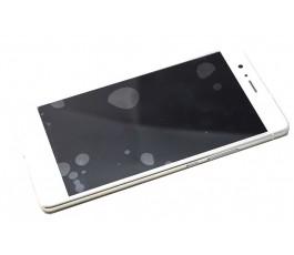 Pantalla completa táctil lcd y marco Huawei P9 Lite Blanca