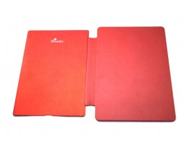 Tapa trasera con funda Sony Digital Book Reader PRS-T3 roja