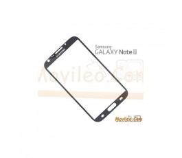 Cristal Gris Oscuro Samsung Galaxy Note 2, N7100 - Imagen 1