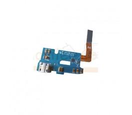 Flex Conector de Carga, Usb , Microfono y Conector Antena para Samsung Galaxy Note 2, n7100 - Imagen 1