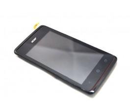 Pantalla completa tactil lcd display y marco para Acer Liquid Z200