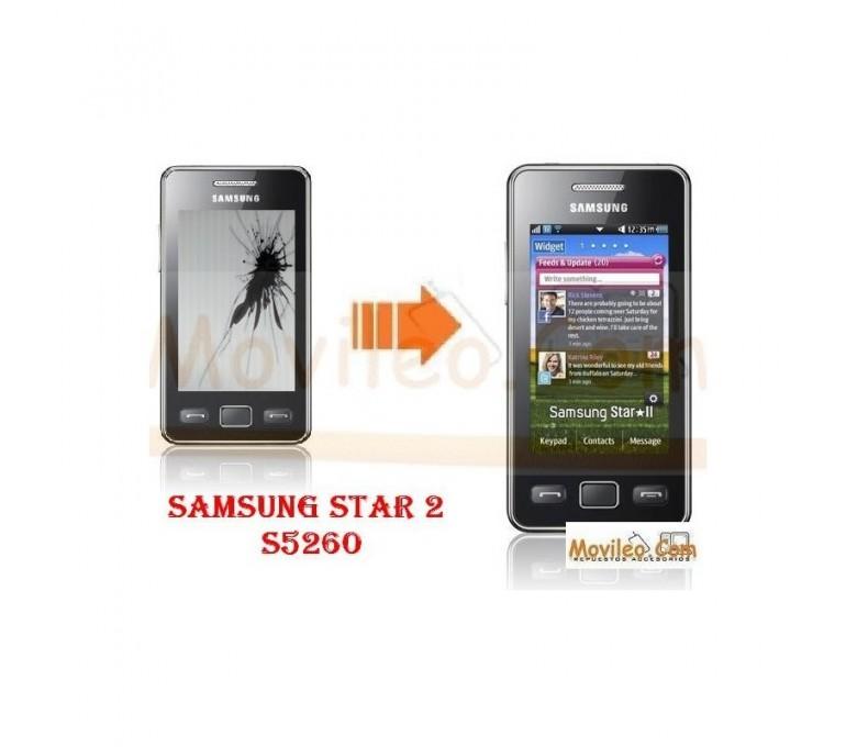 CAMBIAR PANTALLA LCD SAMSUNG STAR 2 S5260 - Imagen 1