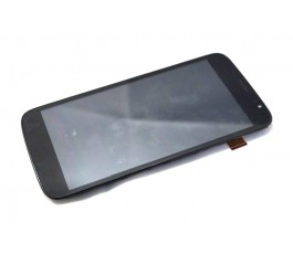 Pantalla completa tactil lcd display con marco Yezz A6MBK negra