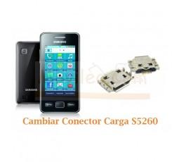 Cambiar Conector Carga Ssamsung Star 2 S5260