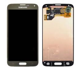 Pantalla Completa Dorada para Samsung Galaxy S5 G900F