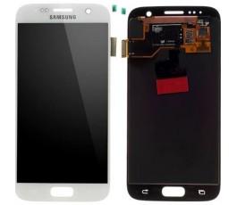 Pantalla completa táctil y lcd Samsung Galaxy S7 G930F Blanca