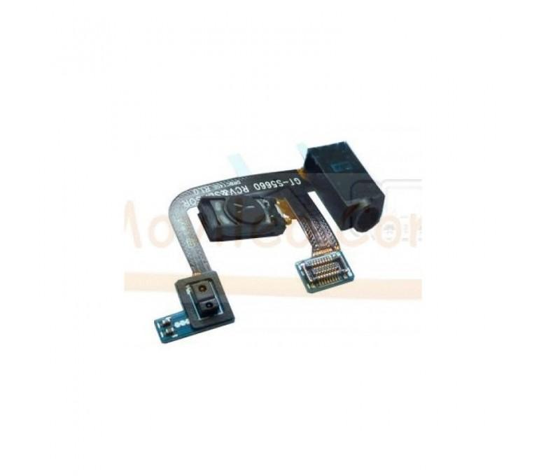 Flex Auricular Jack y Sensor de Proximidad para Samsung Gio S5660 - Imagen 1