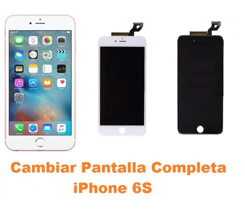 162a0a3b97e Cambiar pantalla completa tactil y lcd iPhone 6s