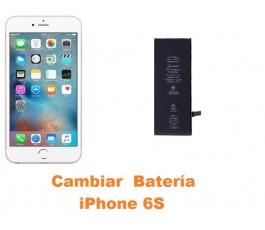 Cambiar bateria buzzer iPhone 6s