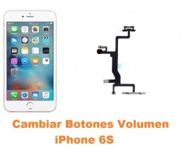 Cambiar botones volumen iPhone 6s