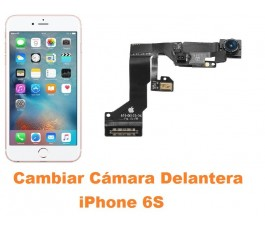Cambiar cámara delantera iPhone 6s