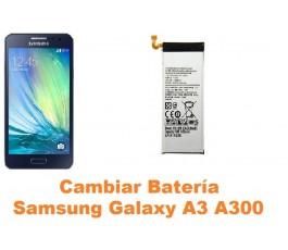 Cambiar bateria Samsung Galaxy A3 A300