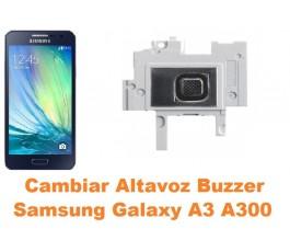 Cambiar altavoz buzzer Samsung Galaxy A3 A300