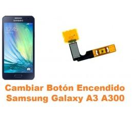 Cambiar boton encendido Samsung Galaxy A3 A300