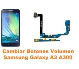 Cambiar botones volumen Samsung Galaxy A3 A300