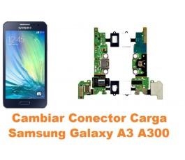 Cambiar conector carga Samsung Galaxy A3 A300