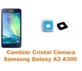 Cambiar cristal cámara Samsung Galaxy A3 A300