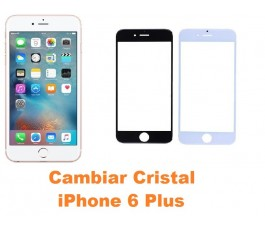 Cambiar cristal iPhone 6 Plus+
