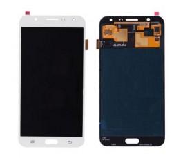 Pantalla completa tactil y lcd display para Samsung Galaxy J7 J700 blanca