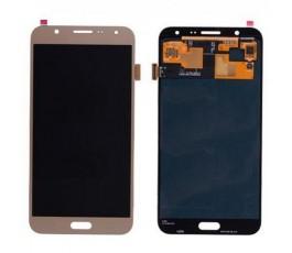 Pantalla completa tactil y lcd display para Samsung Galaxy J7 J700 dorada