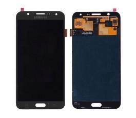 Pantalla completa tactil y lcd display para Samsung Galaxy J7 J700 negra