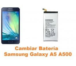 Cambiar bateria Samsung Galaxy A5 A500