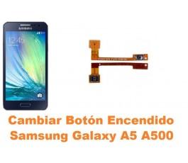 Cambiar boton encendido Samsung Galaxy A5 A500