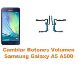Cambiar botones volumen Samsung Galaxy A5 A500