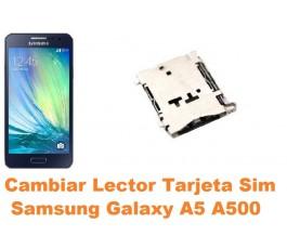 Cambiar lector sim Samsung Galaxy A5 A500