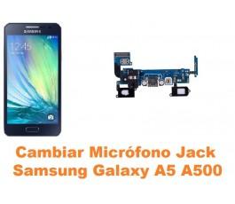 Cambiar micrófono jack audio Samsung Galaxy A5 A500