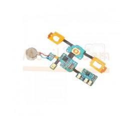 Flex Teclado Microfono Vibrador y Conector de Antena para Samsung Galaxy S i9000 i9001 - Imagen 1