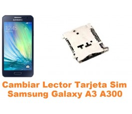 Cambiar lector sim Samsung Galaxy A3 A300
