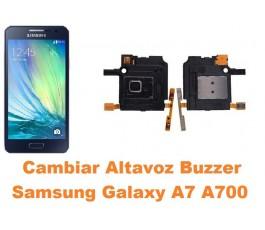 Cambiar altavoz buzzer Samsung Galaxy A7 A700