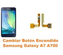 Cambiar boton encendido Samsung Galaxy A7 A700
