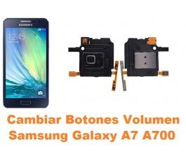 Cambiar botones volumen Samsung Galaxy A7 A700
