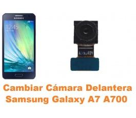 Cambiar cámara delantera Samsung Galaxy A7 A700