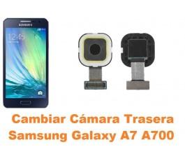 Cambiar cámara trasera Samsung Galaxy A7 A700