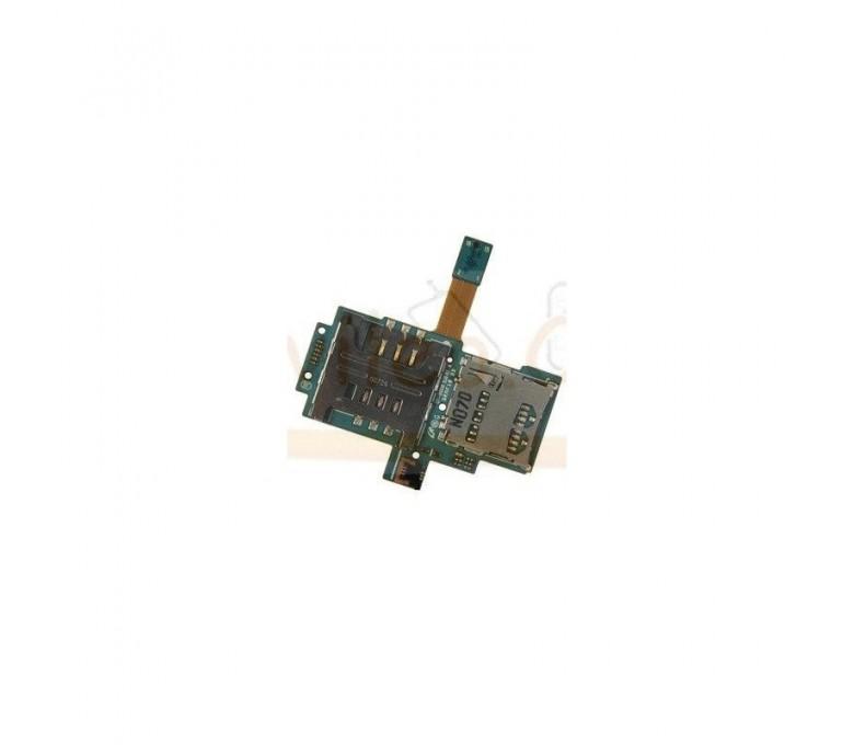 Modulo Lector Sim y Micro SD para Samsung Galaxy S i9000 i9001 - Imagen 1