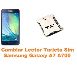 Cambiar lector sim Samsung Galaxy A7 A700