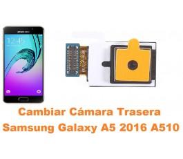 Cambiar cámara trasera Samsung Galaxy A5 2016 A510