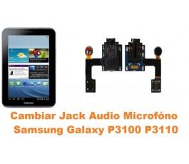 Cambiar micrófono jack audio Samsung Tab 2 P3100 P3110