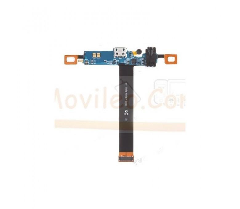 Flex Conector de Carga Usb Microfono Teclado y Jack para Samsung Galaxy S Advance i9070 - Imagen 1