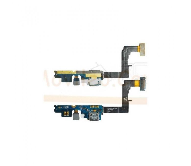 Flex Conector Carga Usb Microfono y Conexion de Antena para Samsung Galaxy R i9103 - Imagen 1