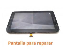 Pantalla completa lcd marco y tactil para reparar Samsung Tab P1000