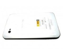 Tapa trasera para Samsung Tab P1000 blanca