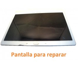 Pantalla completa lcd marco y tactil Samsung Tab S T800 T805 blanca
